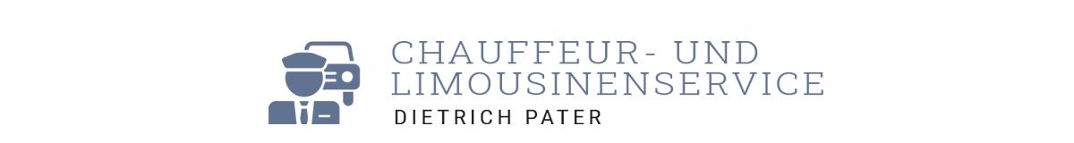 Dietrich Pater – Chauffeur- und Limousinenservice